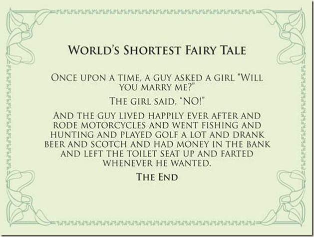 Wall Hanging 2 (World's Shortest Fairy Tale)