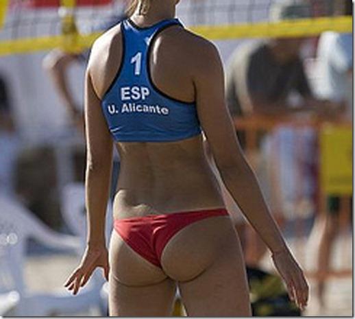 beach ass