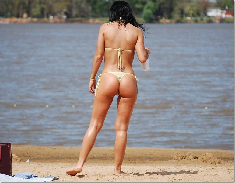 nice beach ass