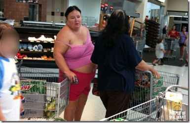 wally world hottie