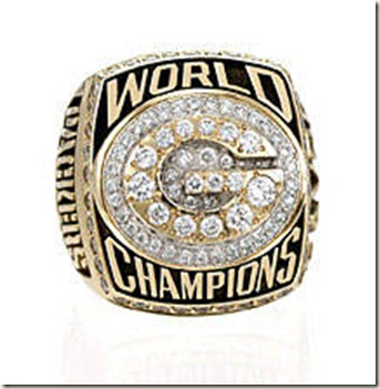 greenbay super bown ring
