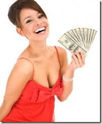 money grubbing bitch