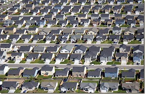 life in suburbia
