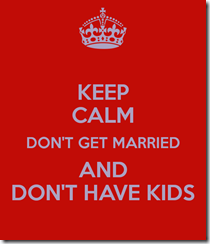don't get married